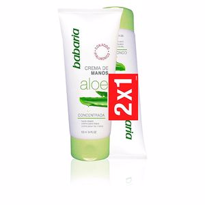 Kit Cosmetici ALOE VERA HAND CREAM LOTTO Babaria