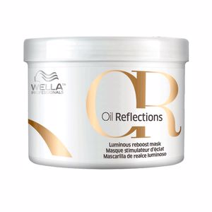 Shiny hair mask OR OIL REFLECTIONS luminous reboost mask Wella