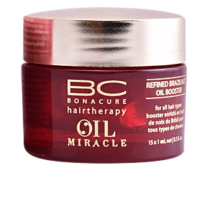 Hair moisturizer treatment BC OIL MIRACLE refined brazilnut oil booster Schwarzkopf