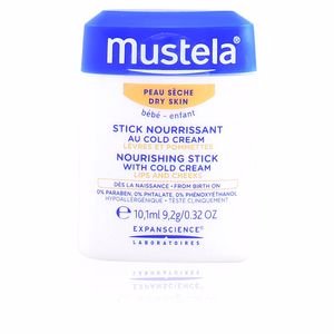 Lip balm BÉBÉ hydra stick lips and cheeks with cold cream Mustela
