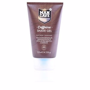 Shaving foam CAFFEINE SHAVE GEL natural shaving Mancave