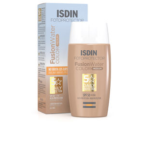 CC Cream FUSION WATER fotoprotector color SPF50+ Isdin