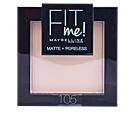 FIT ME MATTE+PORELESS powder #105-natural