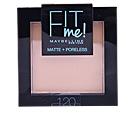 FIT ME MATTE+PORELESS powder  #120-classic ivory