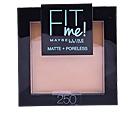 FIT ME MATTE+PORELESS powder #250-sun