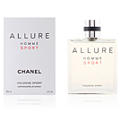 ALLURE HOMME SPORT cologne sport spray 150 ml Chanel