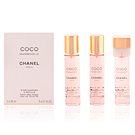 COCO MADEMOISELLE eau de toilette twist & spray 3 refills 3 x 20 ml
