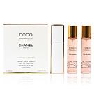 Chanel COCO MADEMOISELLE eau de parfum twist & spray purse spray 3 x 20 ml