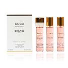 Chanel COCO MADEMOISELLE eau de parfum twist & spray 3 refills x 20 ml