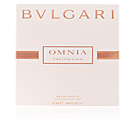 OMNIA CRYSTALLINE eau de toilette spray satin pouch 25 ml Bvlgari