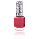 NAIL LACQUER #NLE55-red shatter