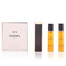 Nº 5 eau de parfum purse spray 3 x 20 ml Chanel