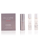 ALLURE HOMME SPORT eau extrême travel spray and two refills 3 x 20 ml Chanel