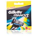 Gillette MACH 3 cargador 8 recambios