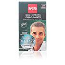 TINTE PARA HOMBRE gel-crema #gris acero Kerzo