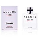 Chanel ALLURE HOMME SPORT COLOGNE eau de cologne vaporizador 50 ml