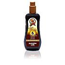 SUNSCREEN SPF6 spray gel with instant bronzer 237 ml Australian Gold